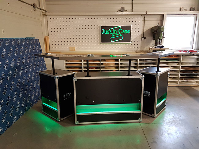 Flightcase bar