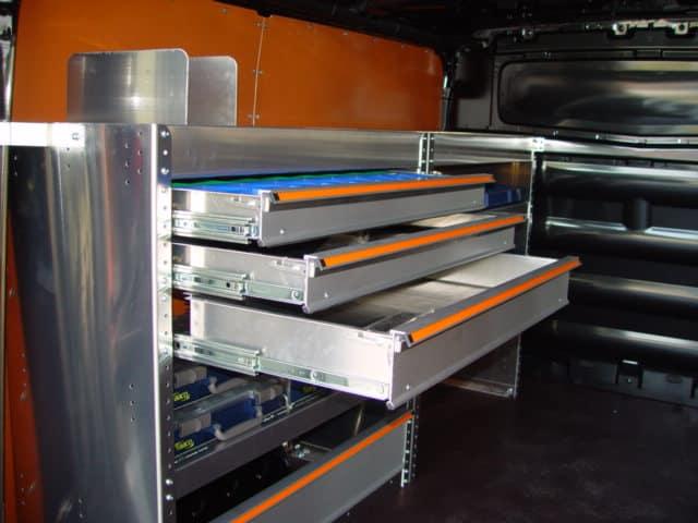 Aluminium businrichting